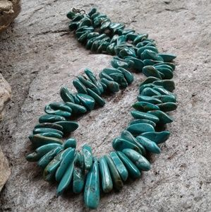 Jewelry - Genuine TURQUOISE nugget necklace